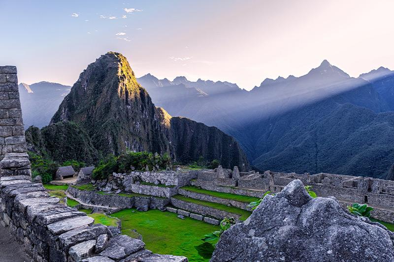 Montanhas de Machu Picchu - Peru